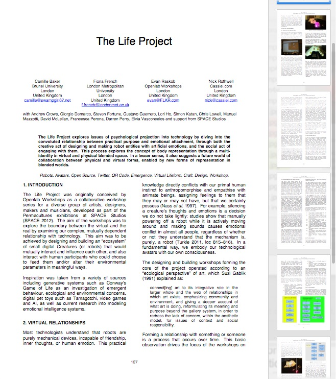 Life project 1
